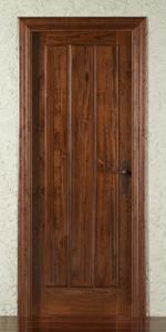 Puertas de interior for Puertas de madera maciza para interior